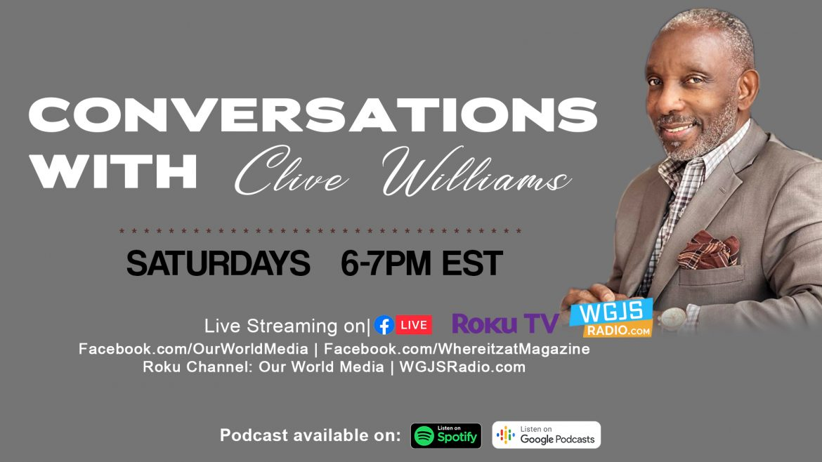 Conversations with Clive Williams - promo flyer version 2